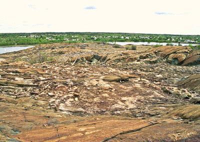 Second Valley area in 2000 with barren land